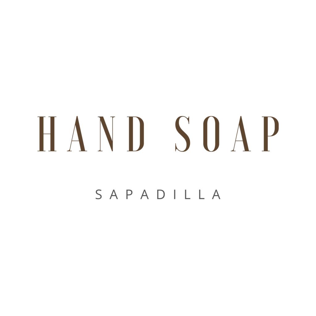 Hand Soap Sapadilla